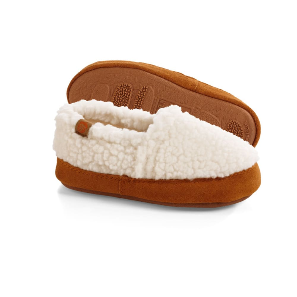 ACORN Kids' Moc Slippers - WHITE
