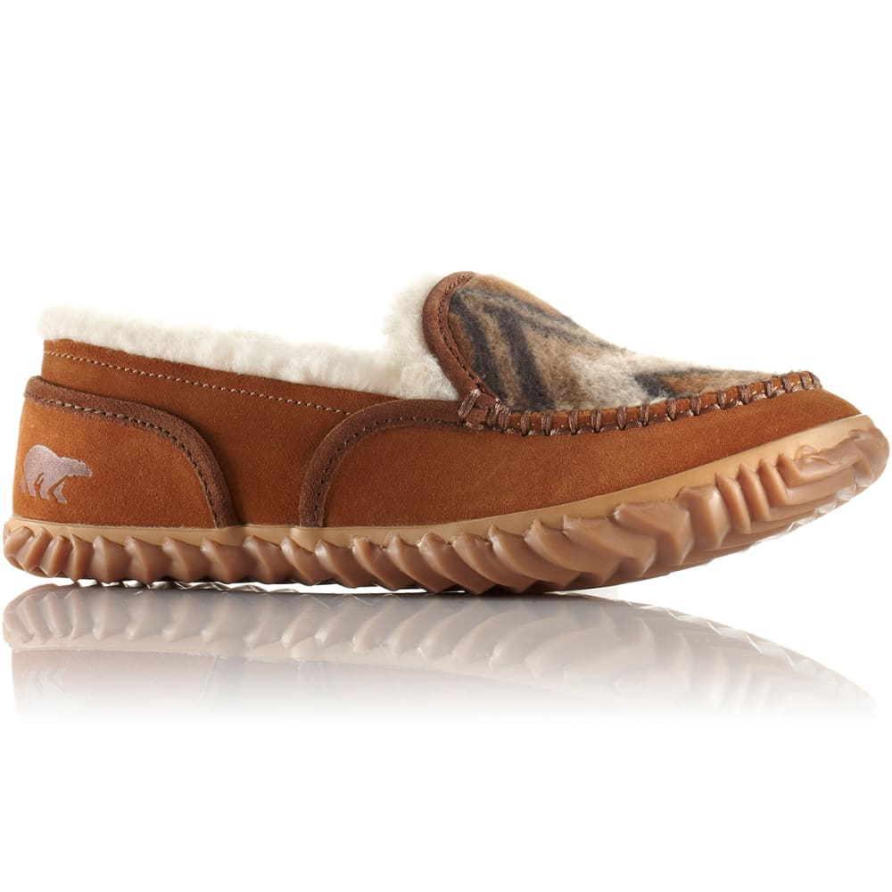 SOREL Women's Tremblant™ Blanket II Moc Slippers - ELK