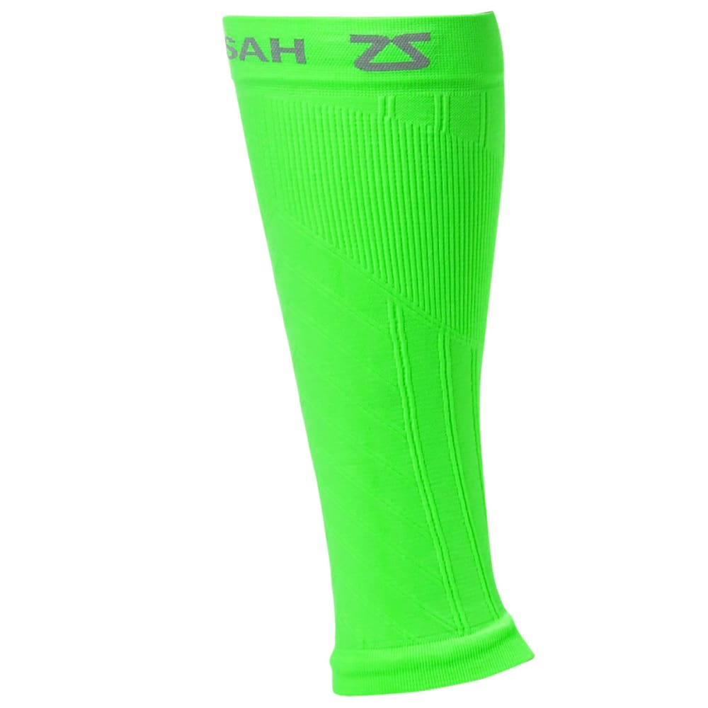 ZENSAH Compression Leg Sleeves - NEONGREEN