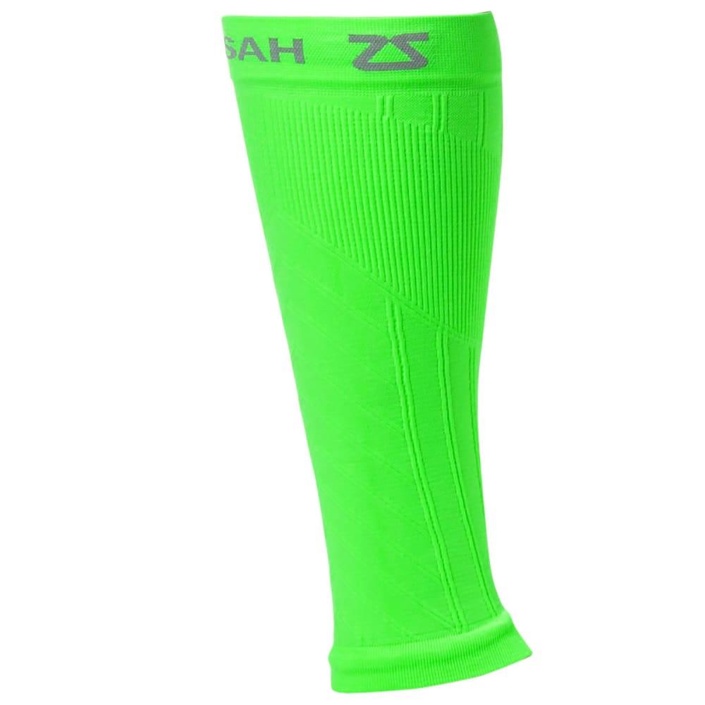 ZENSAH Compression Leg Sleeves - NEONGREEN