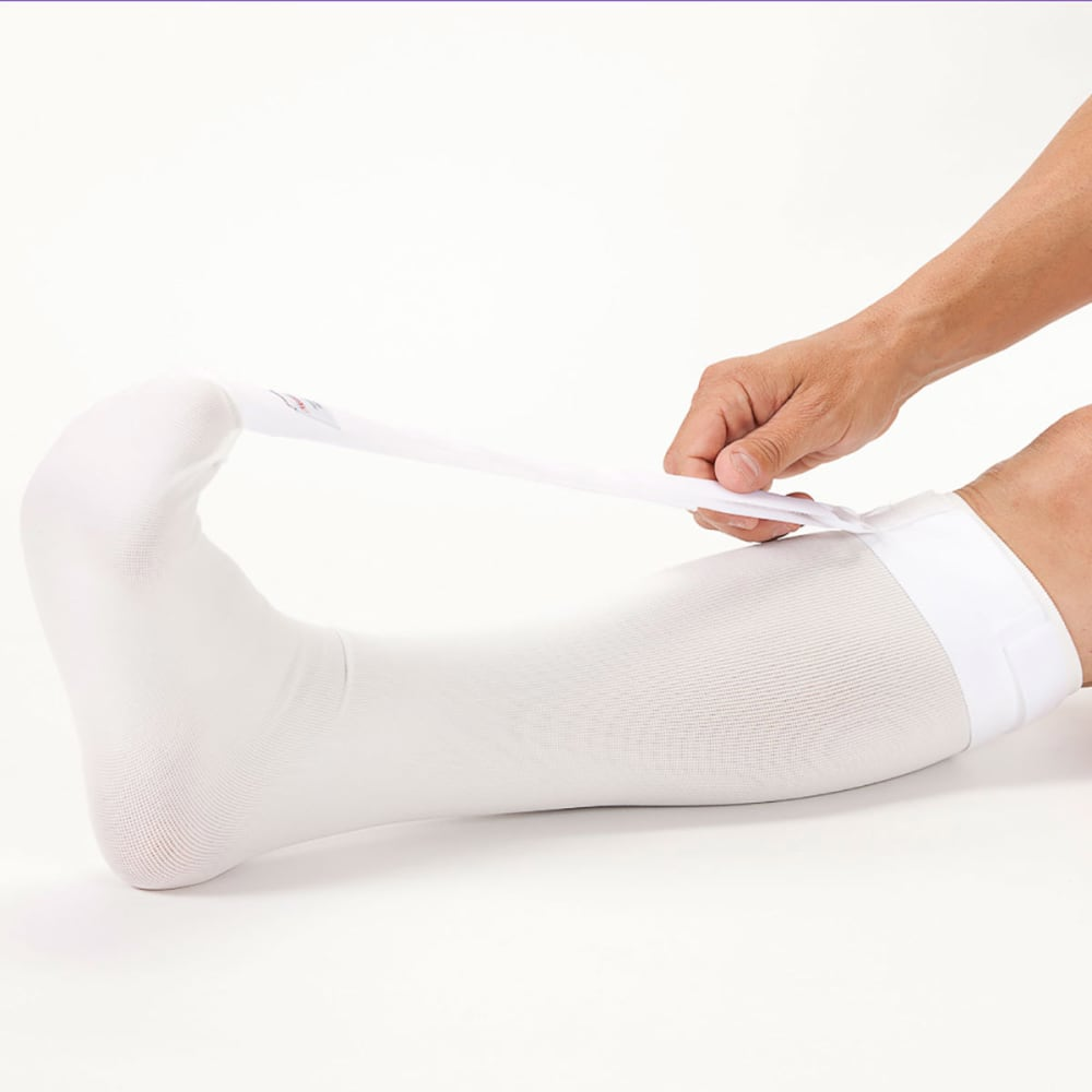 STRASSBURG SOCK, Large - WHITE
