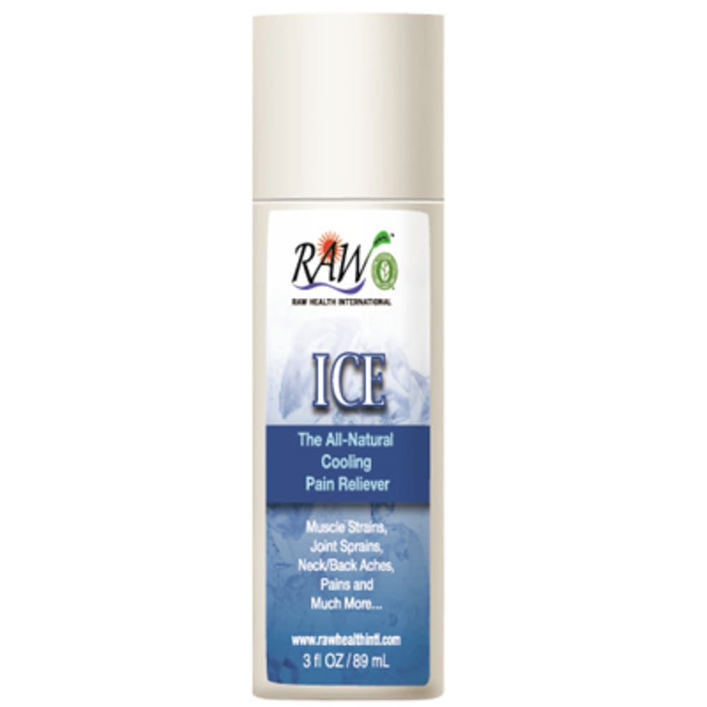 RAW Ice Analgesic Roll-On, 3 oz. - NONE