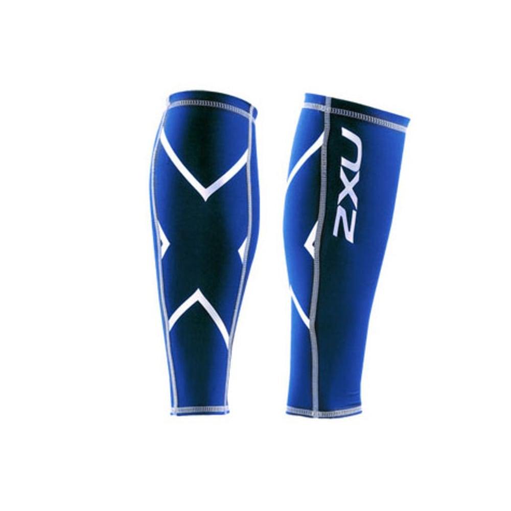 2XU Compression Calf Guard - ROYAL