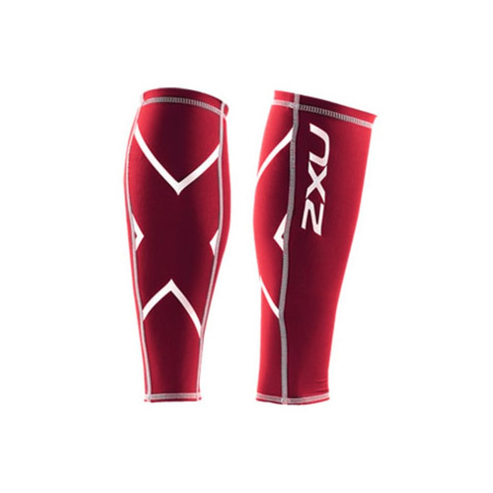 2XU Compression Calf Guard - RED