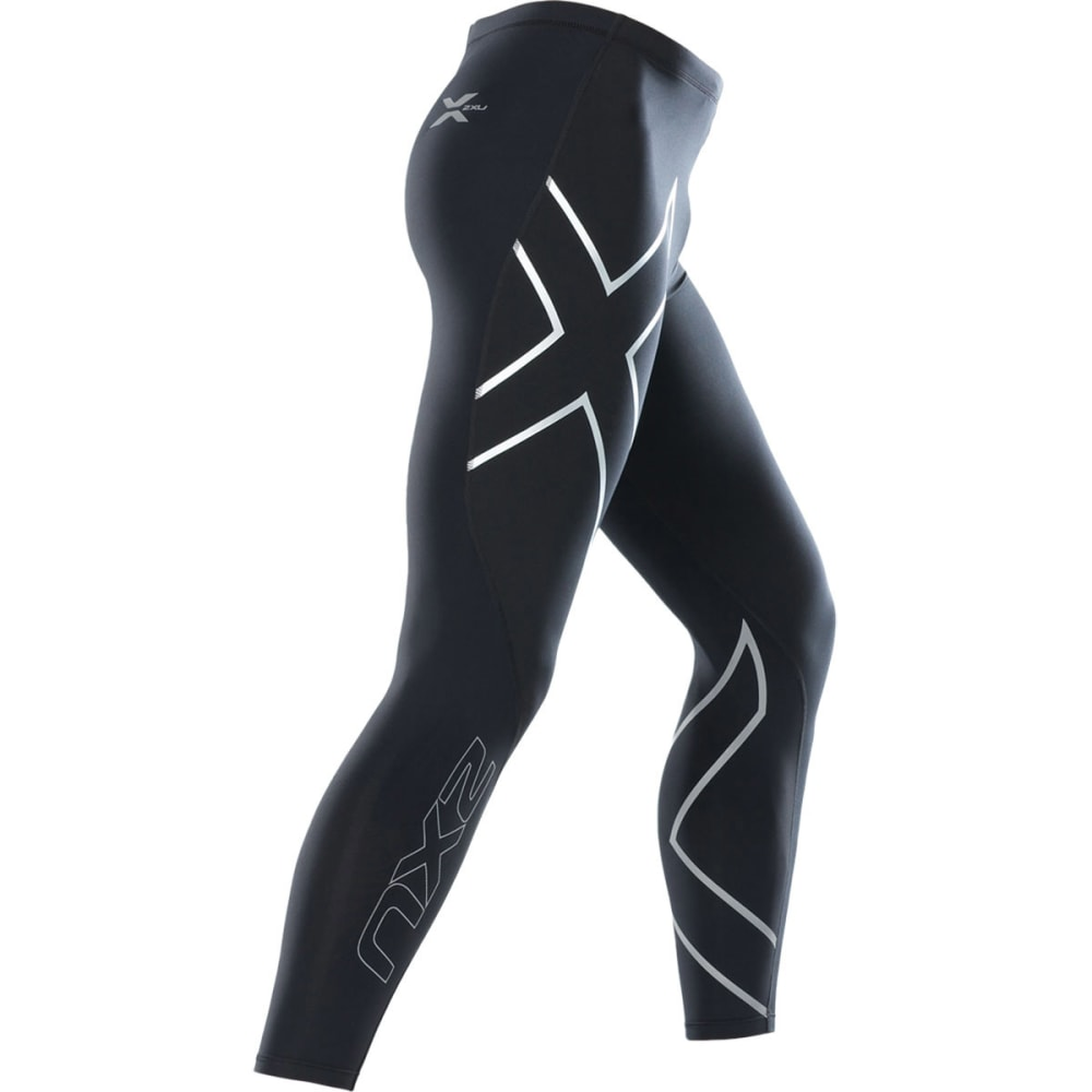 2XU Men's Thermal Compression Tights - BLACK