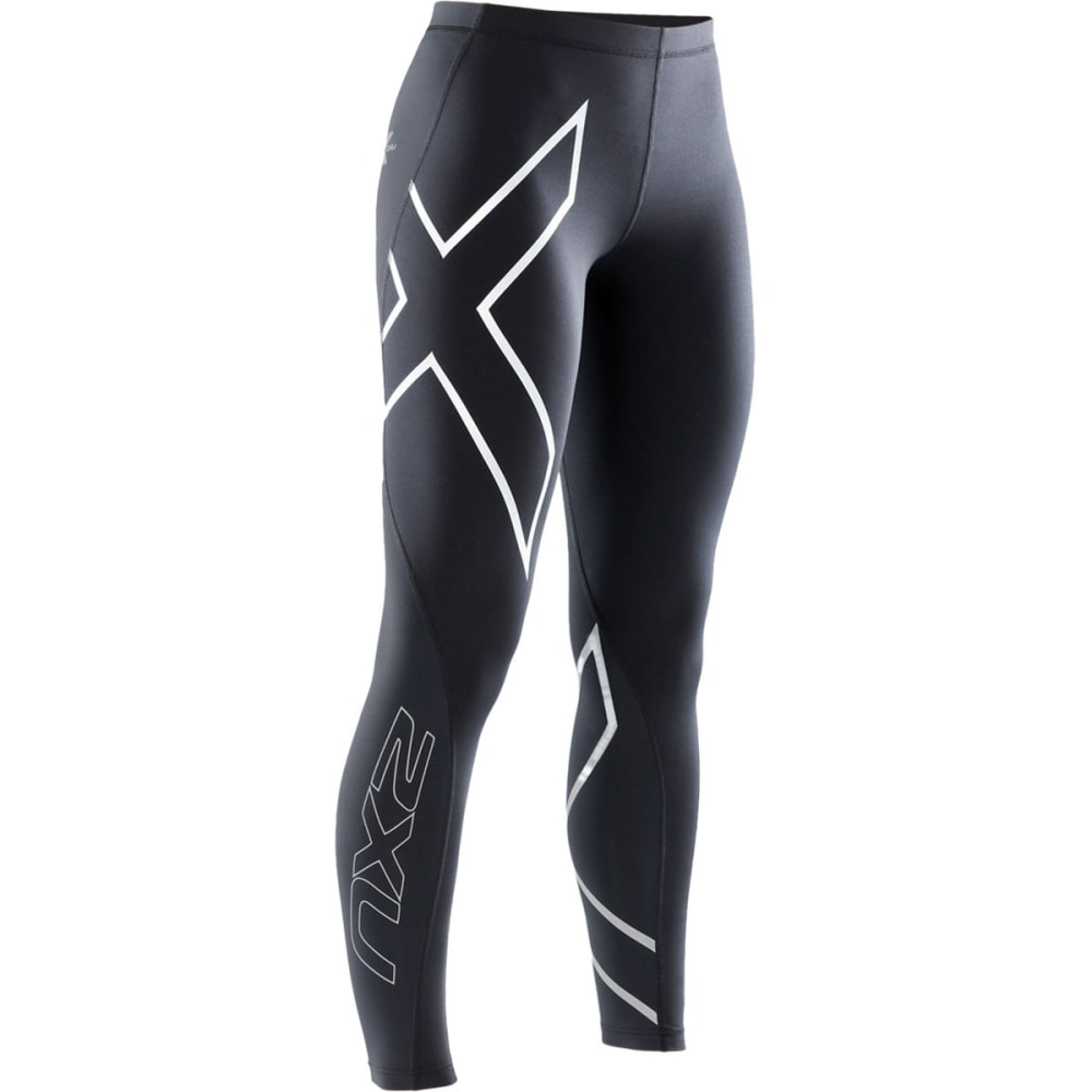 Perfect The Waistband Is Also Wide And Offers A Flattering Fit For Women  Type Of Compression Also Assists In Minimizing Swelling And Muscle Stiffness After Workouts Large Reflective Logos On The Sides Make You More Visible To Others On The Road