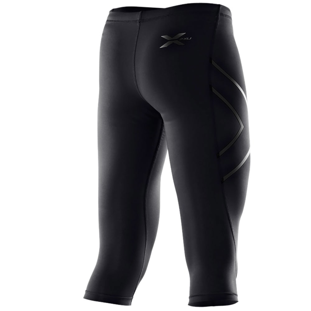 2XU Women's Thermal 3/4 Compression Tights - BLACK