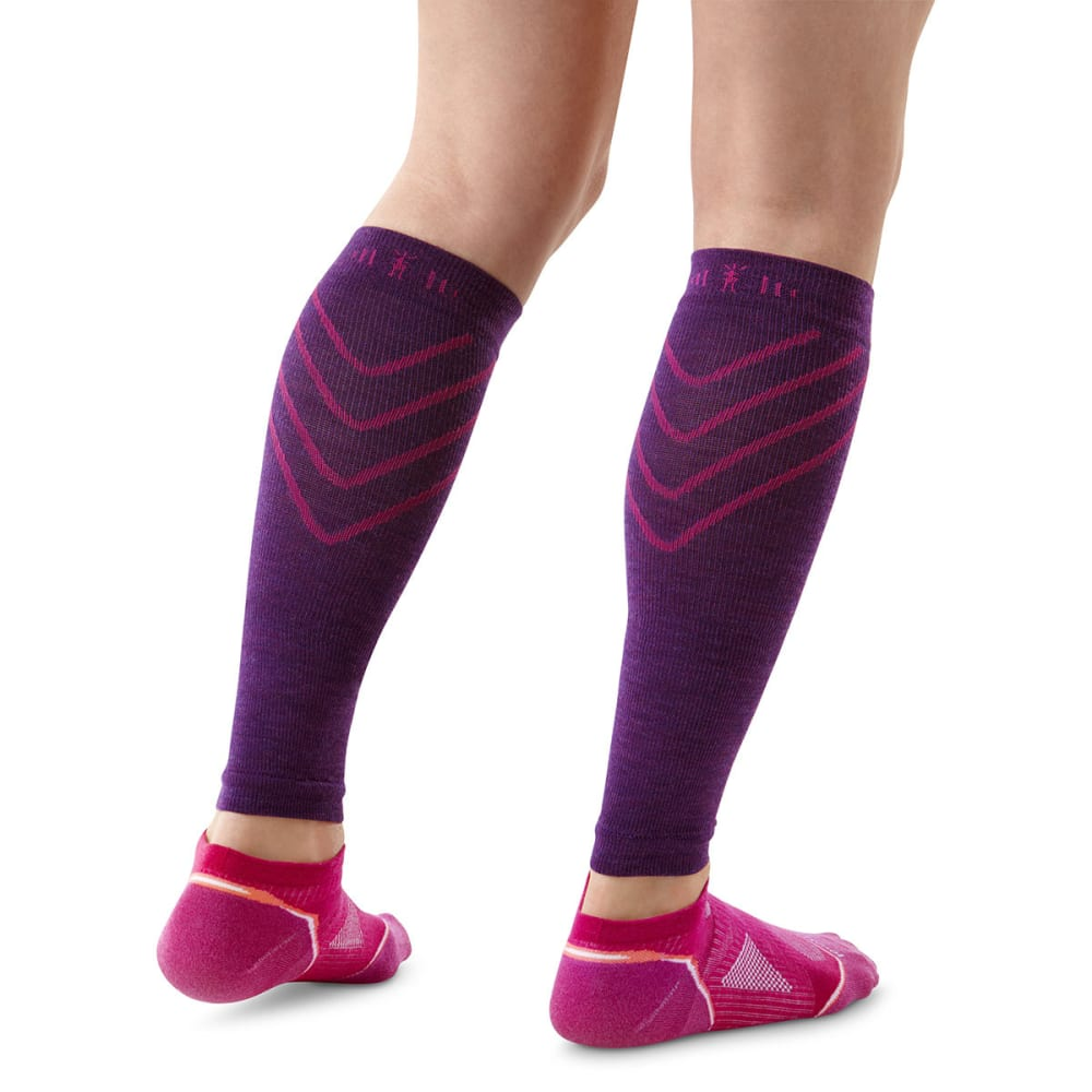 2caeb92b2a SMARTWOOL PhD Compression Calf Sleeves - PURPLE DAHLIA