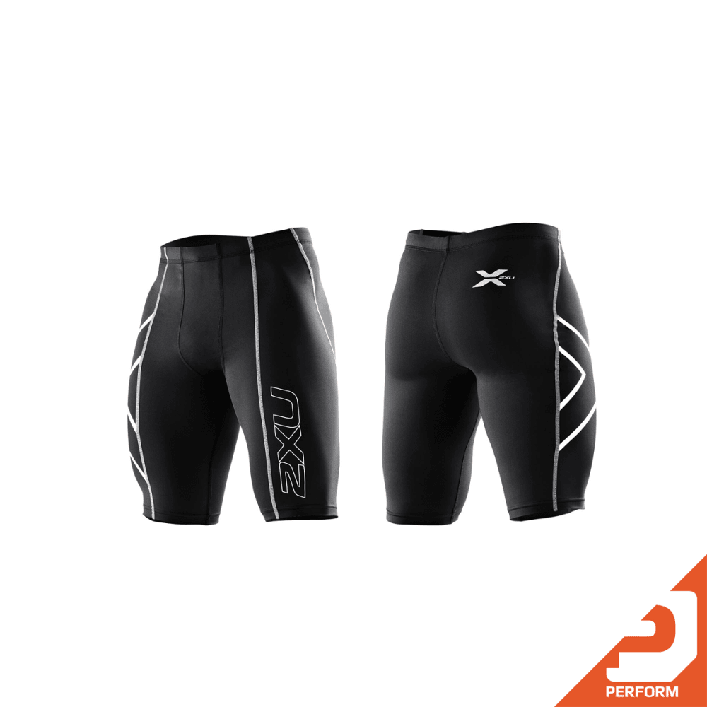 2XU Men's Compression Shorts - BLACK/NERO