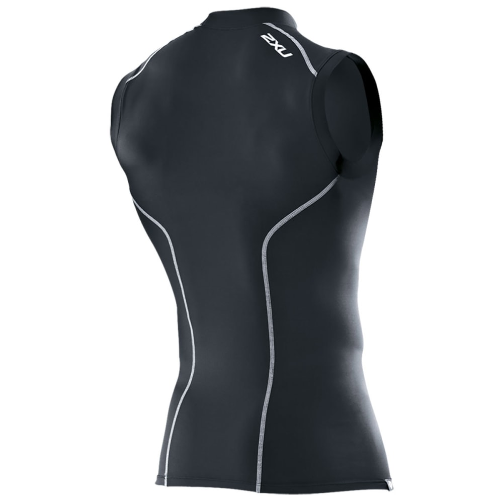 2XU Men's Sleeveless Compression Top - BLACK