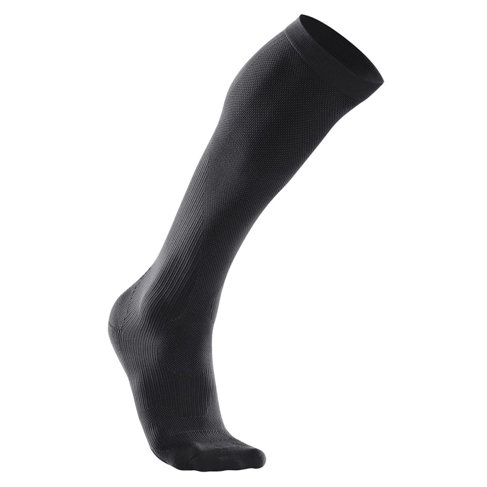 2XU Women's Compression Performance Run Socks - BLACK