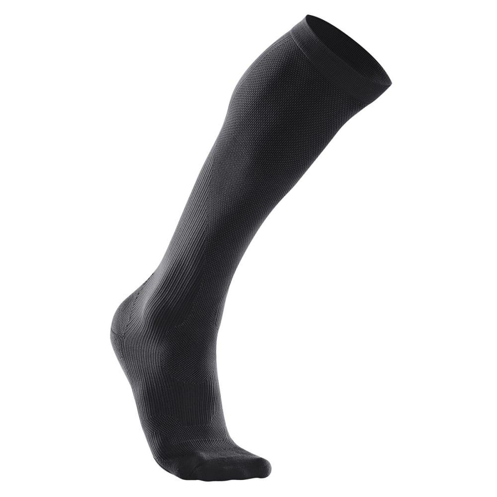 2XU Women's Compression Performance Run Socks - BLACK