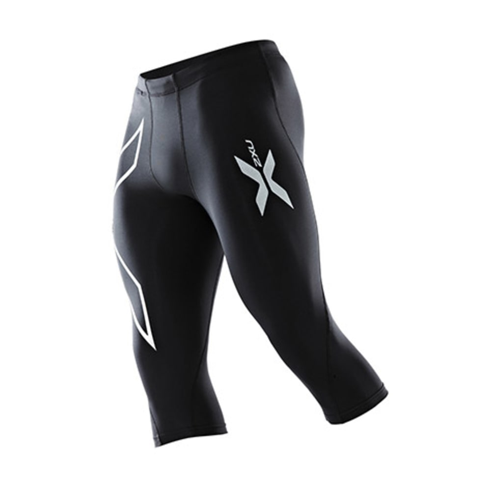 2XU Men's Thermal 3/4 Compression Tights - Black MA1944B