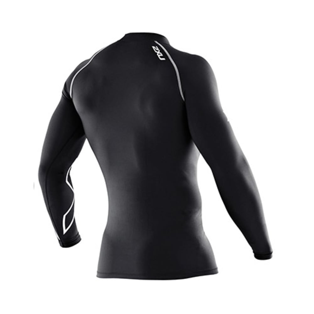 2XU Men's Thermal Compression Top, L/S - BLACK
