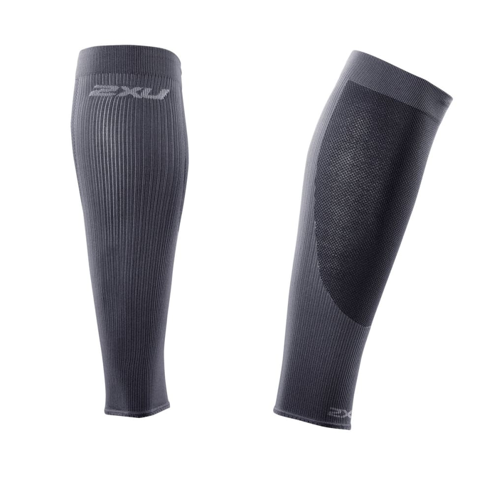 2XU Performance Run Calf Sleeves - HOT PINK