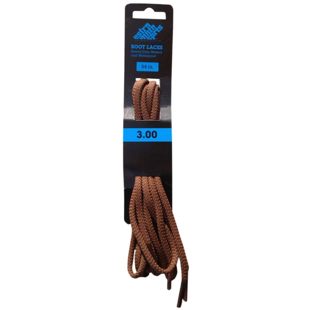 EMS Boot Laces, 54 in. - BROWN
