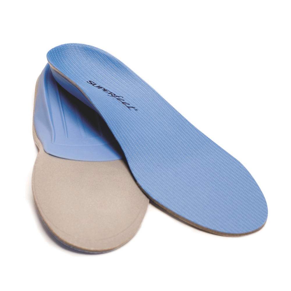 Superfeet Blue Premium Insoles - Blue - Size B