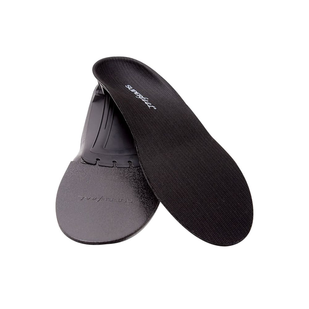 SUPERFEET Black Synergizer Insoles - BLACK
