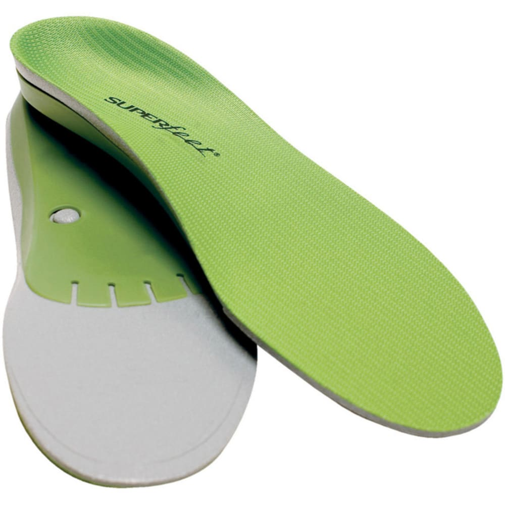 SUPERFEET Custom Insole, Green - GREEN