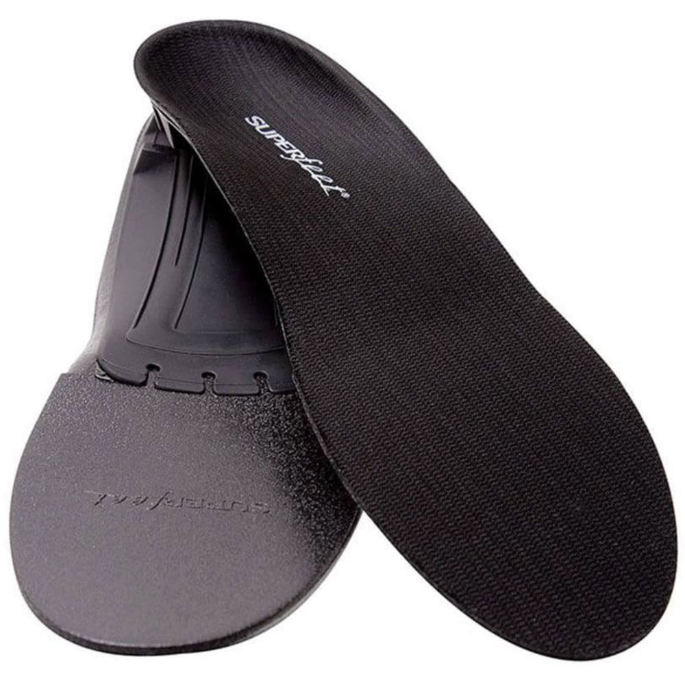 SUPERFEET Custom Insole, Black - BLACK