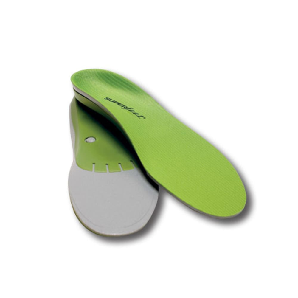 SUPERFEET Green Premium Insoles, Wide - GREEN