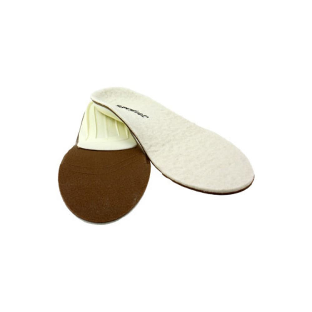 SUPERFEET merinoWhite Insoles - WHITE
