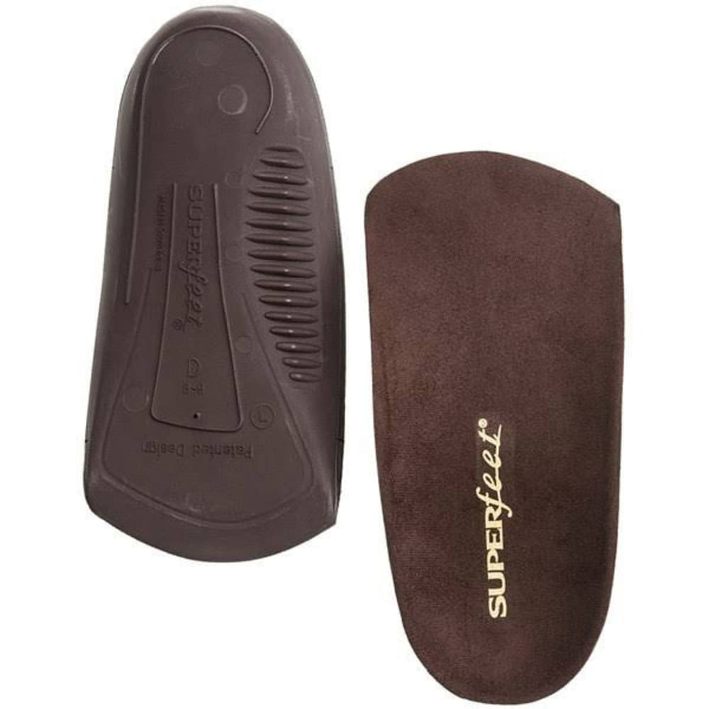 SUPERFEET Women's DLX Dress 3/4 Insoles - BLACK
