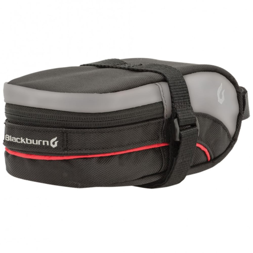BLACKBURN Medium Local Seat Bag - BLACK/GREY