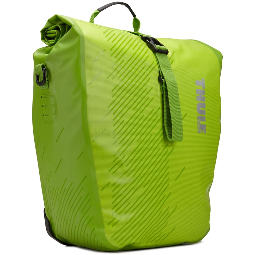 THULE Pack 'n Pedal Shield Pannier, Large - CHARTREUSE