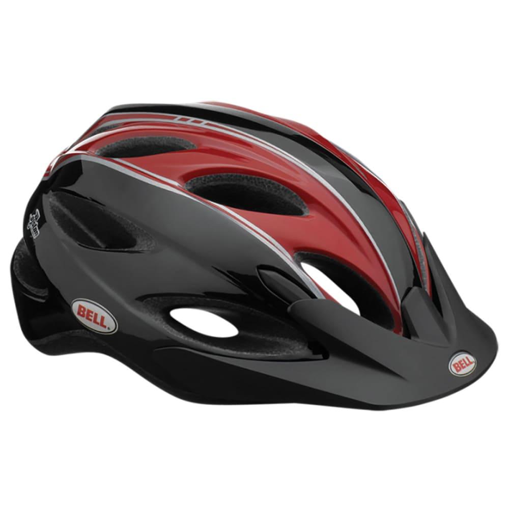 BELL Piston Bike Helmet - BLACK/RED