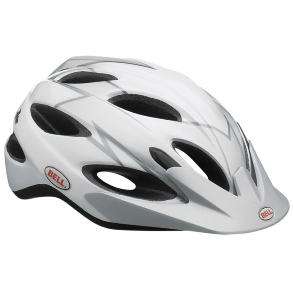 BELL Piston Bike Helmet - WHITE/SILVER