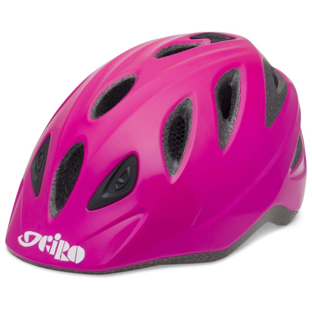 GIRO Girls' Rascal Bike Helmet, S/M - PINK
