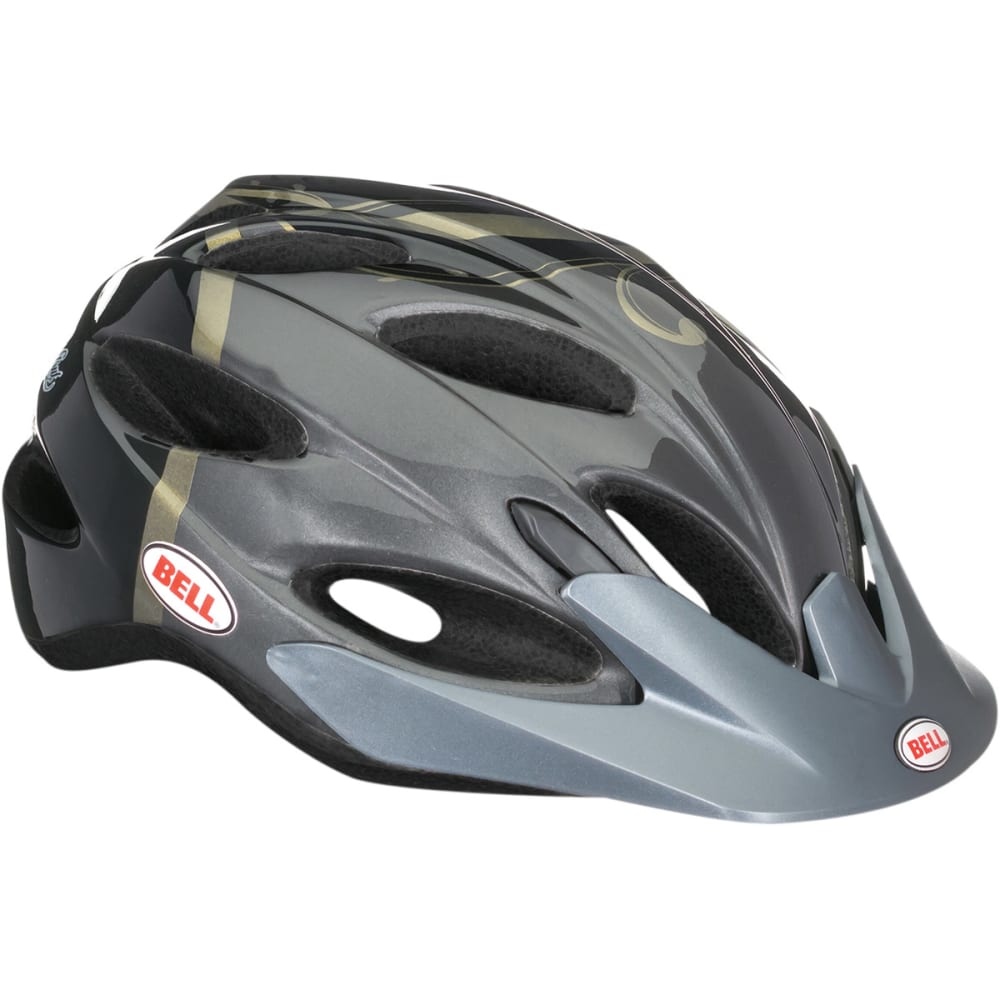 BELL Women's Strut Bike Helmet, Black/Gold - BLACK/GOLD