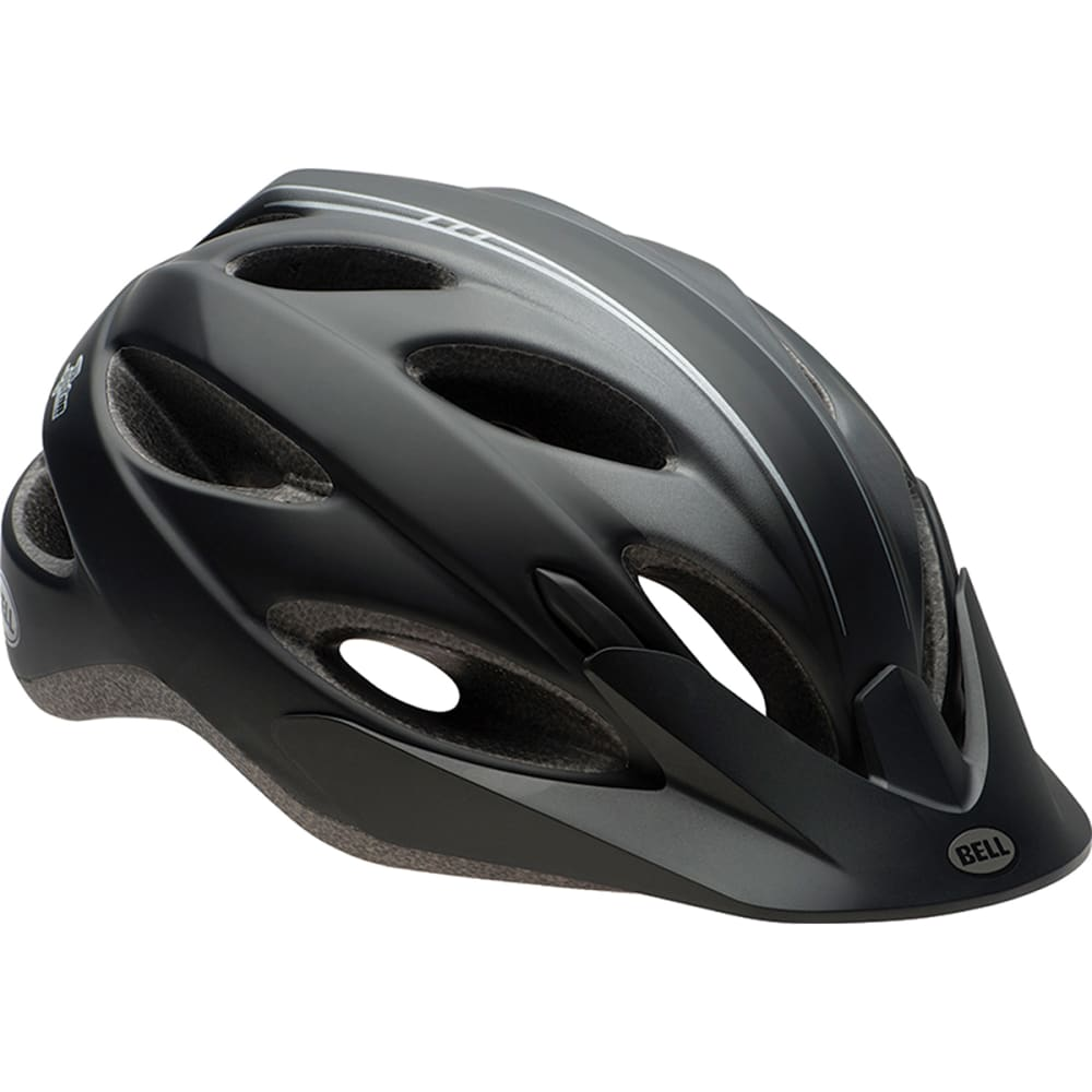 BELL Piston Bike Helmet, Matte Black - MATTE BLACK