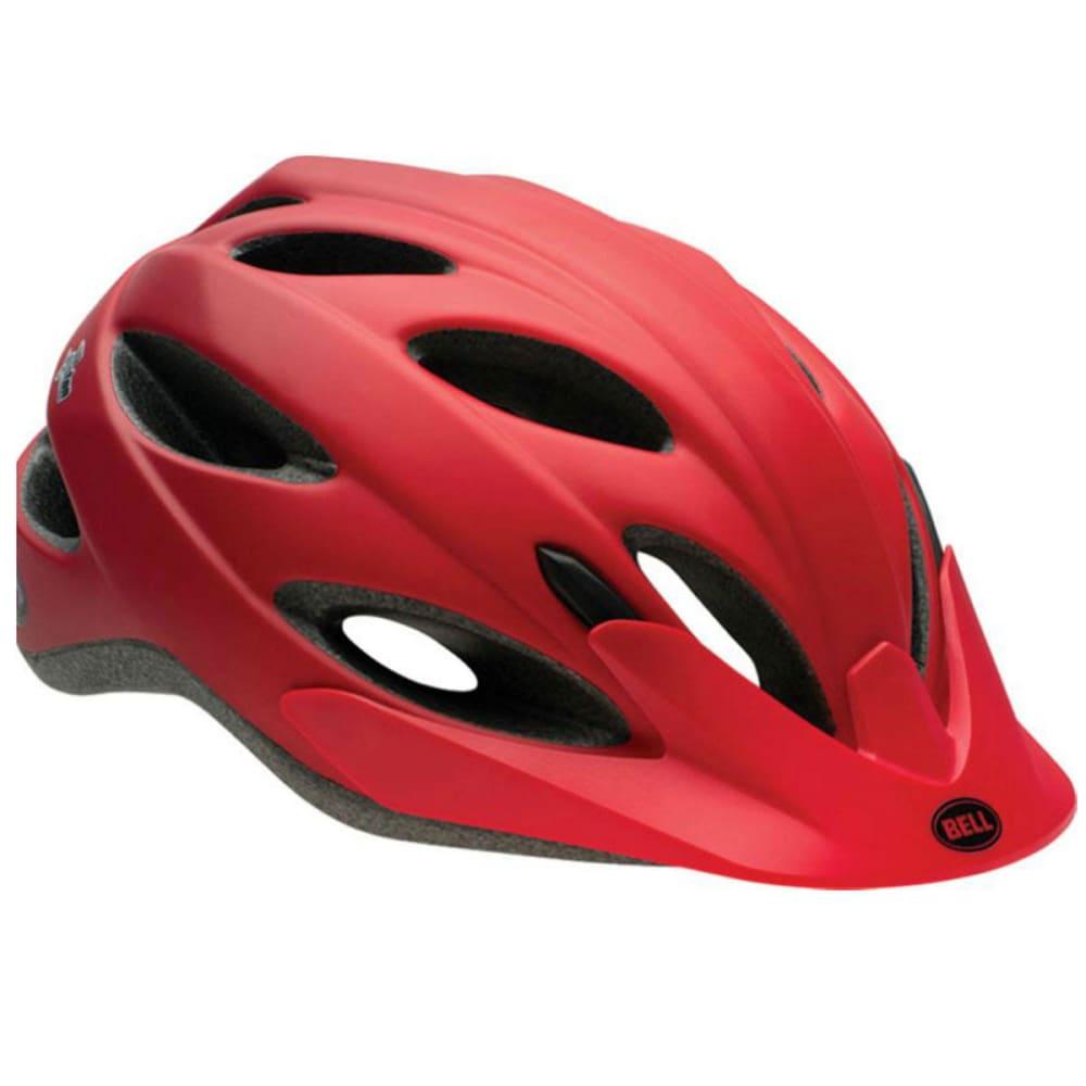 BELL Piston Bike Helmet, Matte Red - MATTE RED