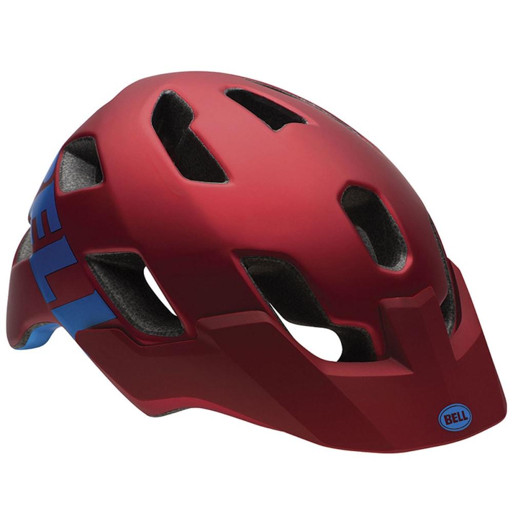 BELL Stoker Bike Helmet - MATTE RED/MARSALA