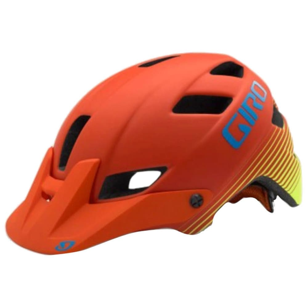 GIRO Feature Mips Helmet - M RED/H YEL