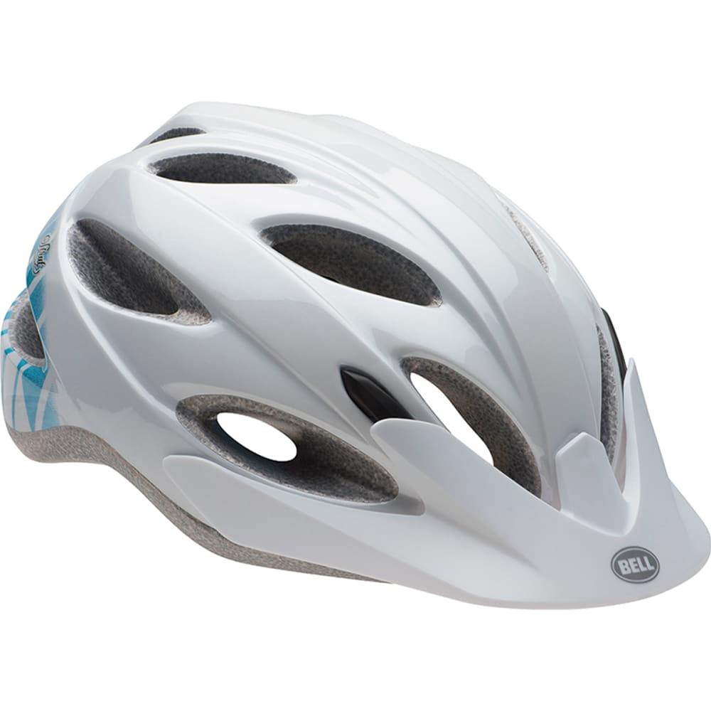 BELL Women's Strut Bike Helmet, White/Teal - WHITE/TEAL