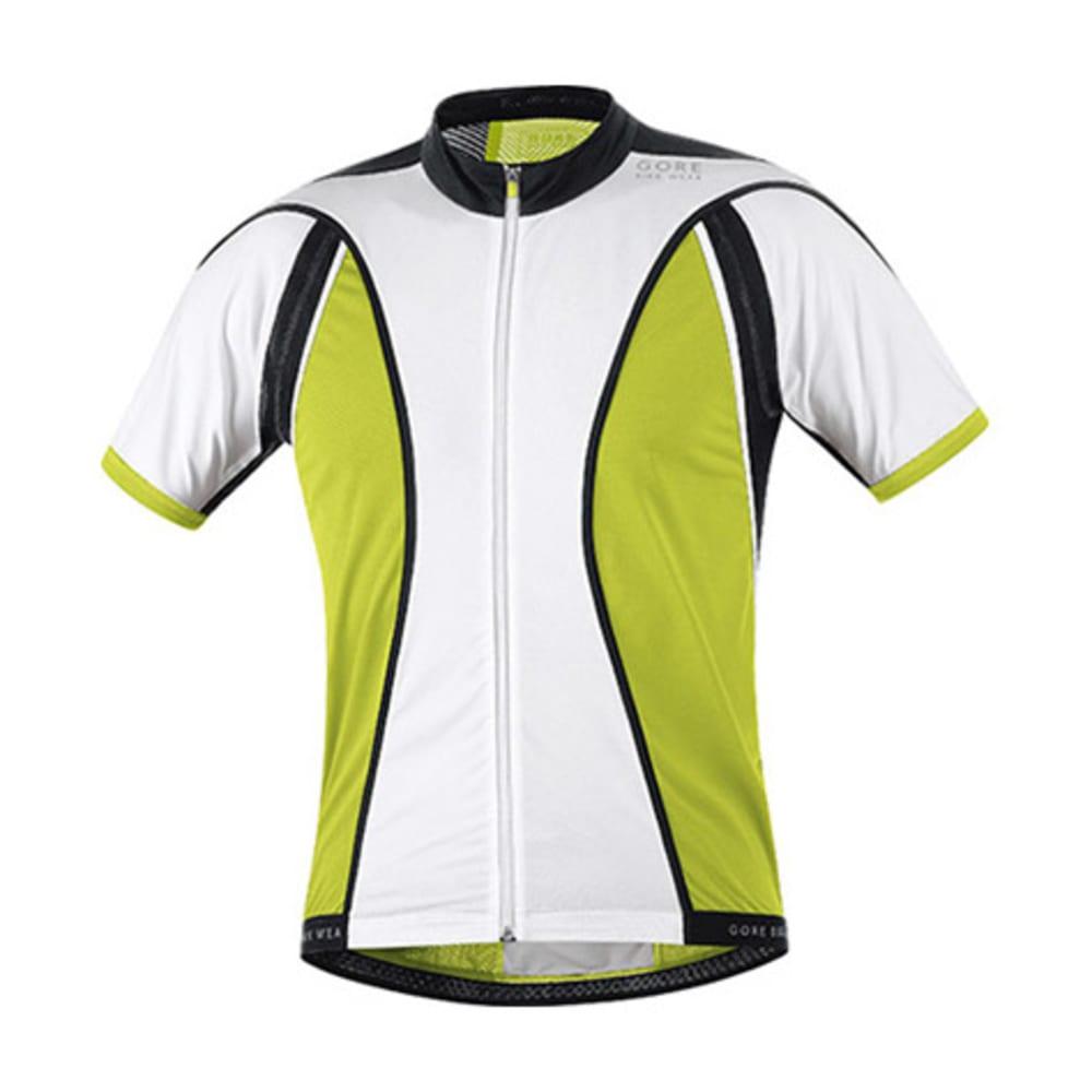 GORE BIKE WEAR Men  39 s Oxygen Full-Zip Jersey - WHITE  6e935e9d7
