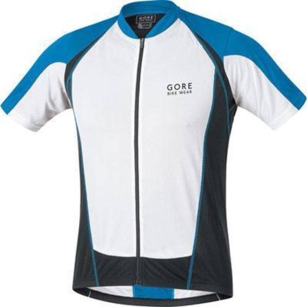 GORE BIKE WEAR Men's Contest Full-Zip Jersey - BLUE