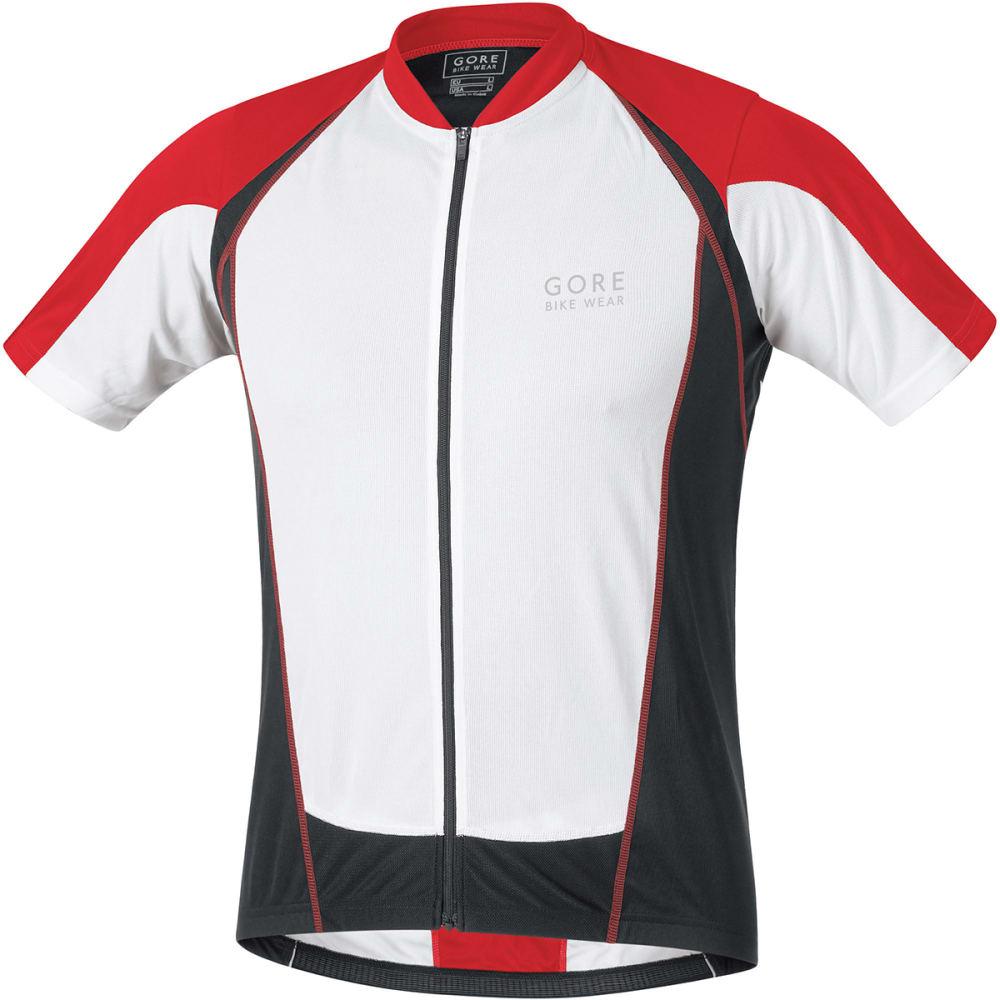 GORE BIKE WEAR Men's Contest Full-Zip Jersey - RED