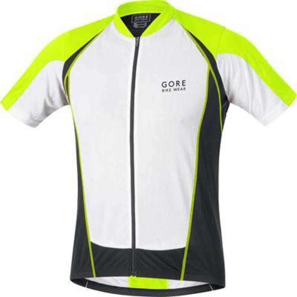 GORE BIKE WEAR Men's Contest Full-Zip Jersey - YELLOW
