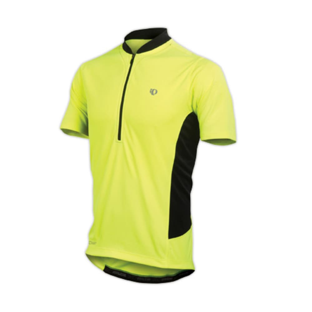 PEARL IZUMI Men's Quest Tour Bike Jersey - SCREAMING YELLOW