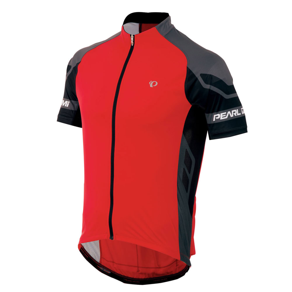 PEARL IZUMI Men's Elite Bike Jersey - TRUE RED