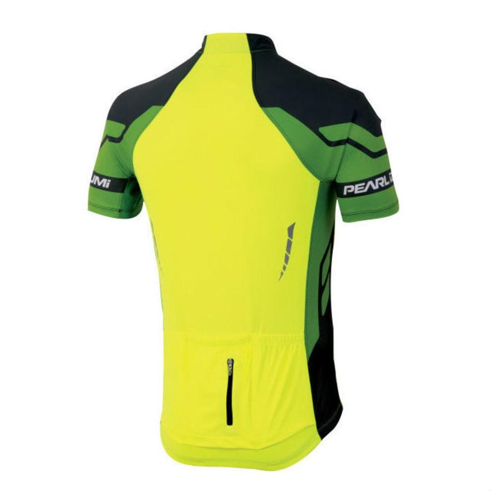 PEARL IZUMI Men's Elite Bike Jersey - SCREAM/GREEN FLASH