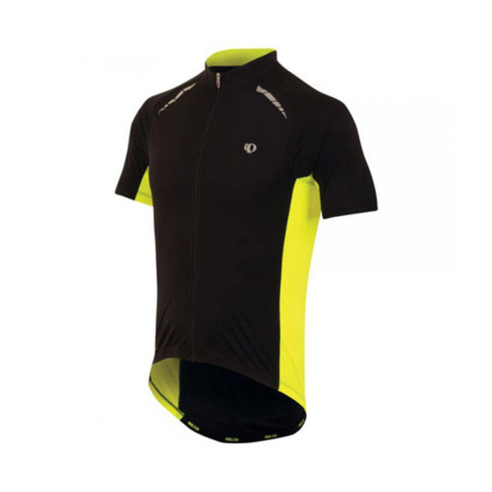 PEARL IZUMI Men's Elite Pursuit Bike Jersey - BLACK/YELLOW