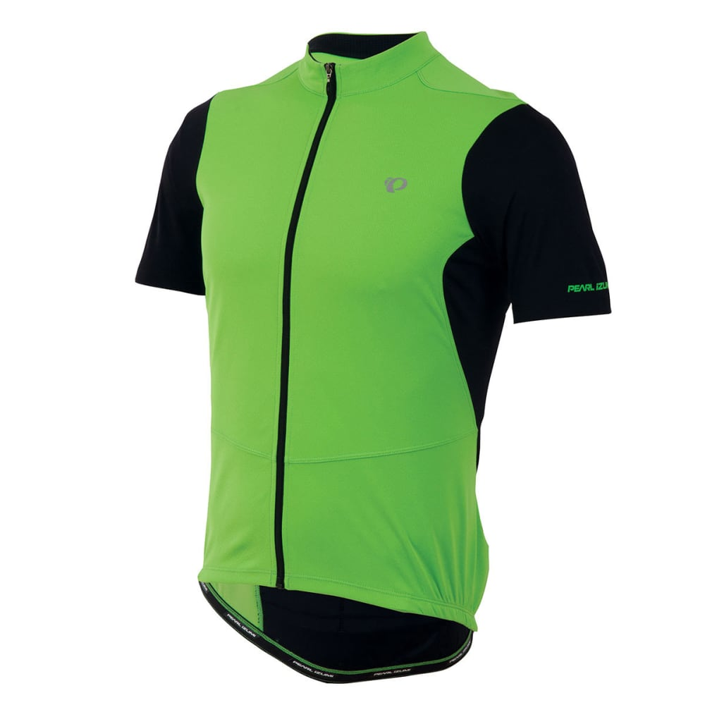 PEARL IZUMI Men's Attack Bike Jersey - BLACK/SCREAM