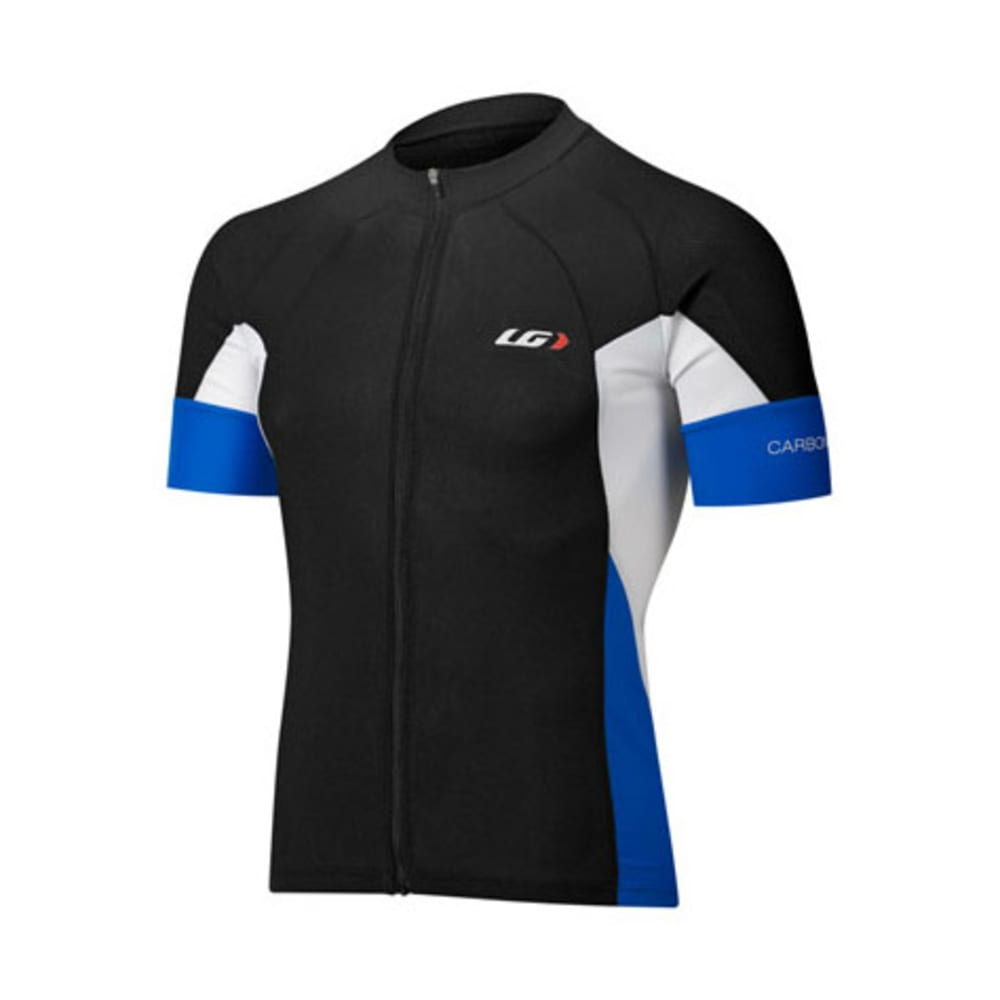 LOUIS GARNEAU Men's Performance Carbon Bike Jersey - BLACK