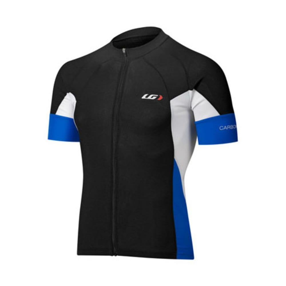 LOUIS GARNEAU Men's Performance Carbon Bike Jersey - BLACK
