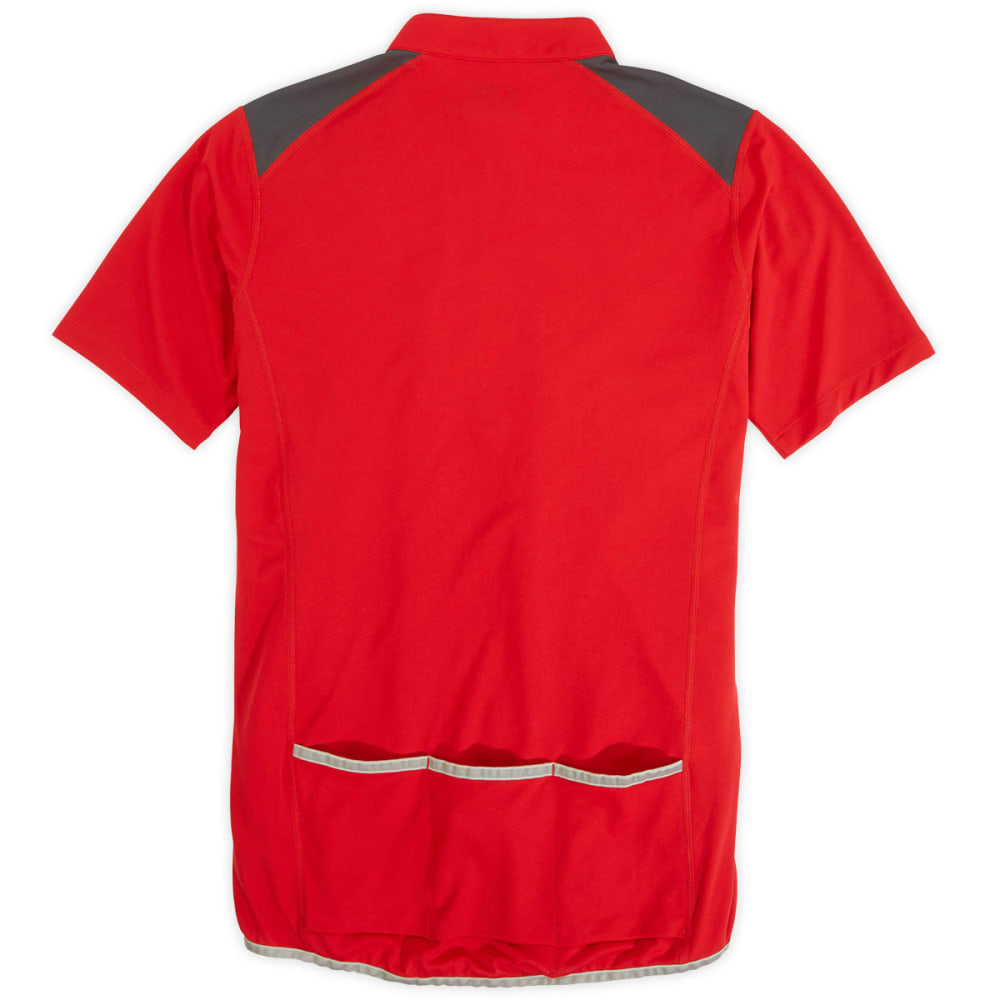 EMS® Men's Velo Bike Jersey   - TRUE RED